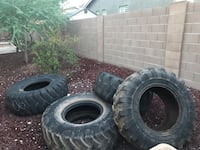 5 workout tires  Goodyear, 85338