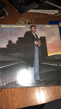 Gene Chandler vinyl album case Chicago, 60651