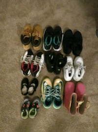 toddler's assorted pairs of shoes Alexandria