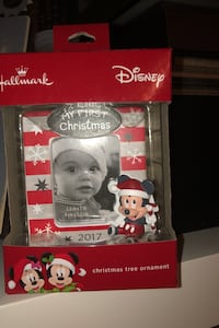 First Xmas baby ornament