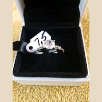 Gorgeous LS solitaire engagement ring.