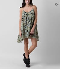 Volcom Laying Low Dress sz Small Campbell, 95008