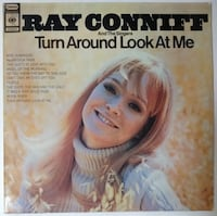 RAY CONNIFF&THE SINGERS(TURN AROUND LOOK AT ME)33'LÜK PLAK Bolu