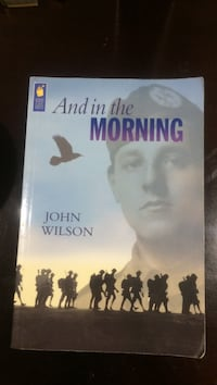 And in the Morning by John Wilson book Vaughan, L6A 3E7