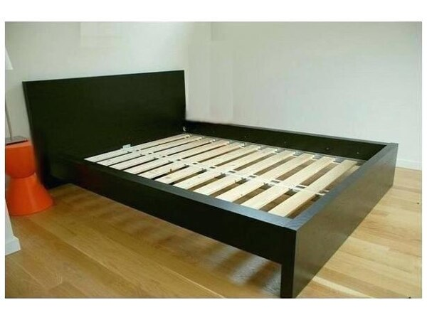 Full Size Bedframe with free mattress