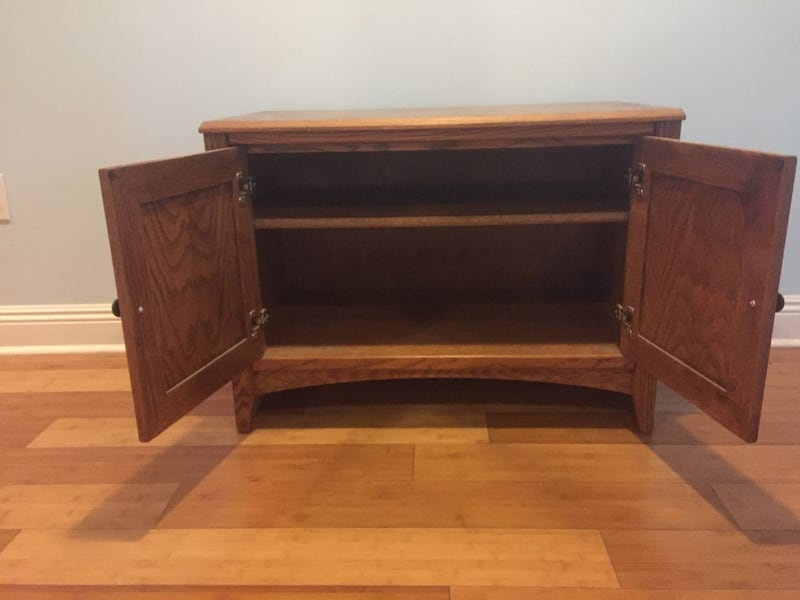 Solid wood storage cubicle/ TV stand entertainment center or mini bar f2525213-90c5-4102-b335-d31cb8c2e92f