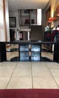 TV Stand With Glass Shelves , N3W 1A6