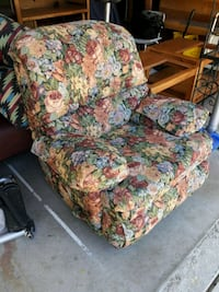 yellow, green, and red floral sofa chair Pinole, 94564