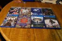 Ps4 and ps3 games Victoria, V9B 6W3