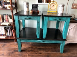 3 piece end tables & coffee table