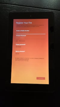 Kindle Fire Tablet.