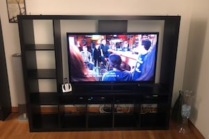 Wall unit and book shelf