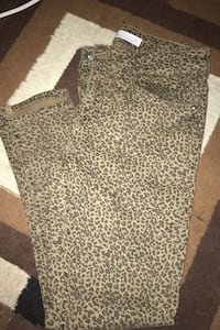 Cheetah pants