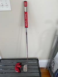 """TaylorMade OS MonteCarlo Putter 35"""" Right-Handed W/ superstroke grip"""
