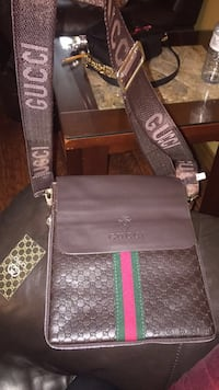 Gucci brown crossbody bag LaSalle