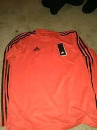 red and black adidas long-sleeved shirt Knightdale, 27545