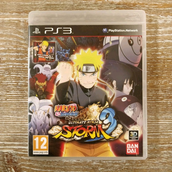 PS3 Naruto Shippuden Ultimate Ninja Storm 3