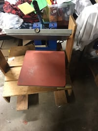 Heat press machine /heat transfer for parts only Toronto, M9B 5R8