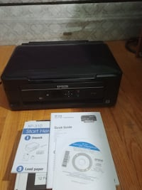 Epson Small-in-One Printer/Scanner/Photo/WiFi with ink cartridges - please read Toronto