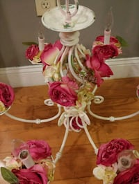 pink and white artificial flower decor Middletown, 06457