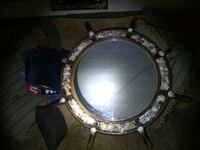 round silver-colored framed mirror Corpus Christi, 78407