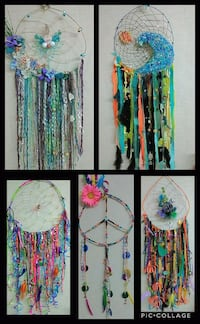 blue, green, and pink dream catcher Rock Spring
