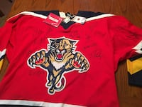 Official NHL Florida Panthers Autographed Jersey Las Vegas, 89156