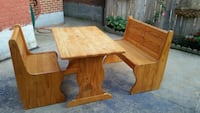 brown wooden table and bench Hamilton, L8L 6L5