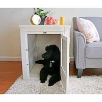 End table dog crate. Charlotte, 28204