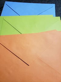 NEW pack of 80 pcs envelopes. London, N6C 4W2