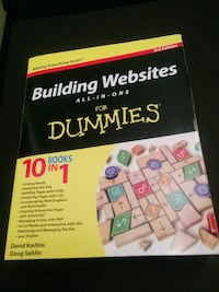 Building websites for dummies book Vaughan, L6A 3P3