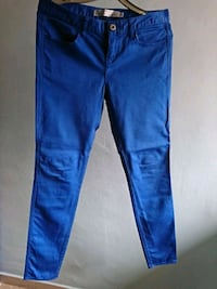 Women's Low Rise Skinny Tapered Pants (Blue) Singapore