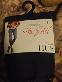new hue women's ripped denim pants size small