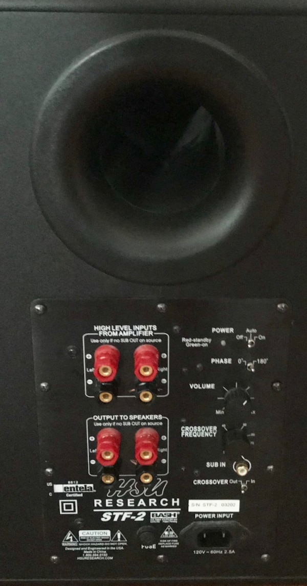 HSU Research Stf 2 subwoofer