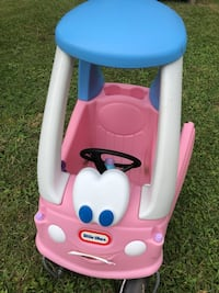 Little Tykes Pink Cozy Coupe Car Pace, 32571