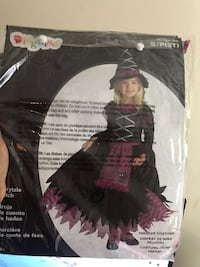 2T Toddler girl witch costume Rockville, 20852