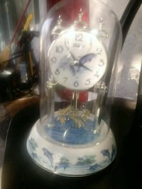white and blue analog clock Fort Lauderdale, 33312