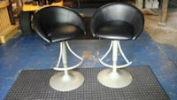 two black-and-gray bar stools Fortville, 46040