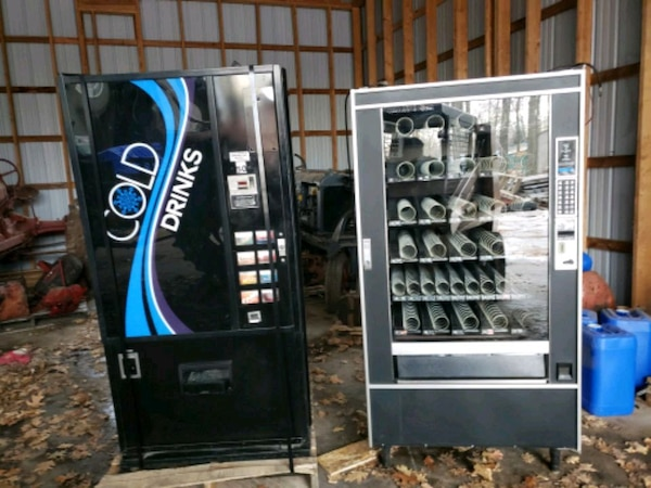 Pop Machine For Sale >> Used Pop Machine And Snack Vending Machines Set For Sale In Cornell