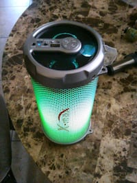 Bluetooth speaker with colorful Lights Bakersfield, 93304