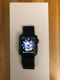 Apple Iwatch series 3 (38 mm) black GPS (not cellular)  Springfield, 22151