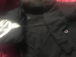 Black Champion Hoody