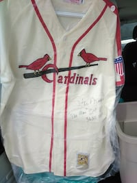 Stan musial autographed Cooperstown jersey Essex, N0R 1J0