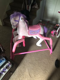 pink and purple rocking horse Quakertown, 18951