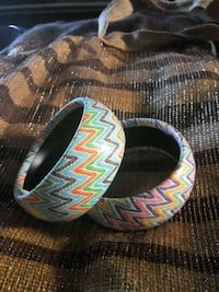 New Leather Chevron pattern braclets San Antonio, 78233