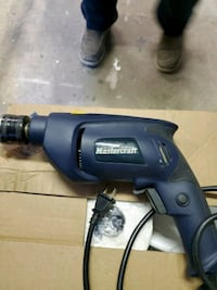 To Mastercraft electric hammer drill