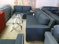 Ashely black fabric sofa and love seat sale Phoenix, 85018