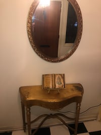 brown wooden framed wall mirror Bellaire, 77401