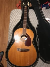 brown classical guitar with case Julian, 27283
