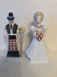 Herend Hungary wedding couple porcelain figurines Toronto, M2R 3N1
